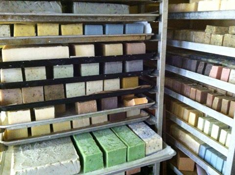 curing soap racks